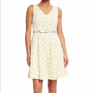 NWT ModCloth Lace and Flare Dress